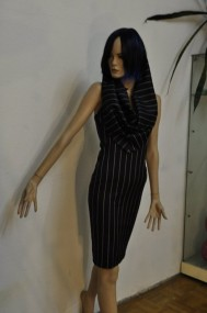 Kleid nadelstreifen
